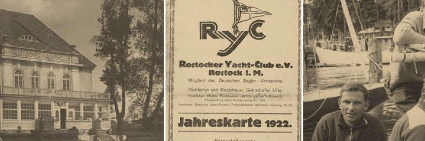Geschichte Rostocker Yachtclub E V